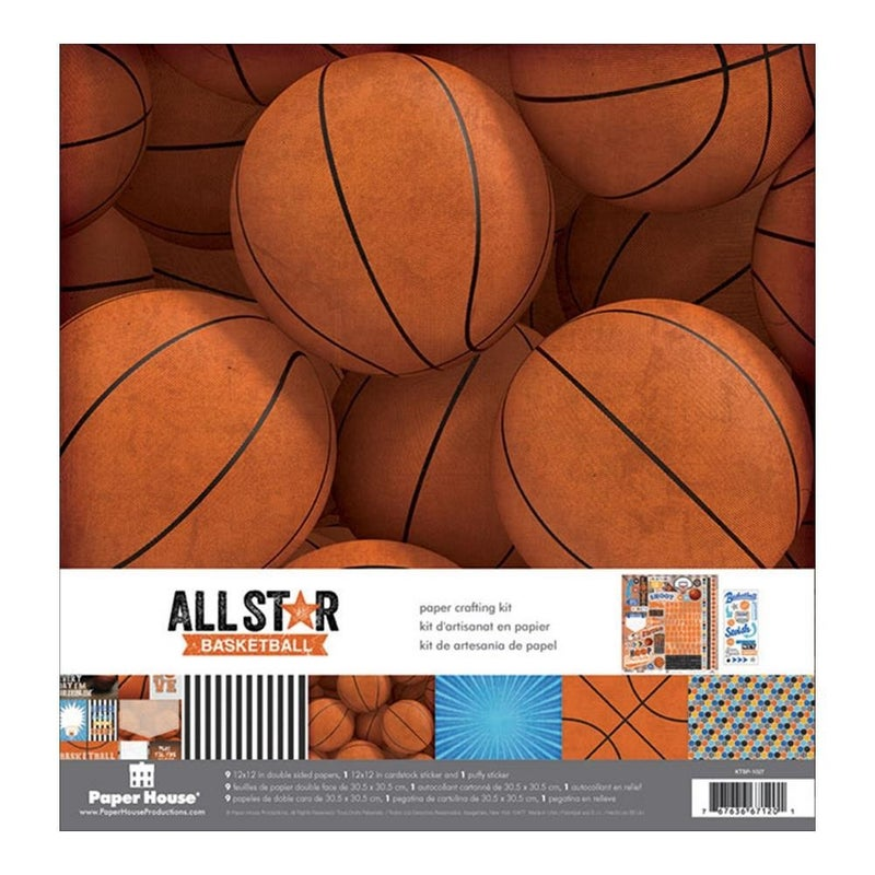 Basketball Paper Pack