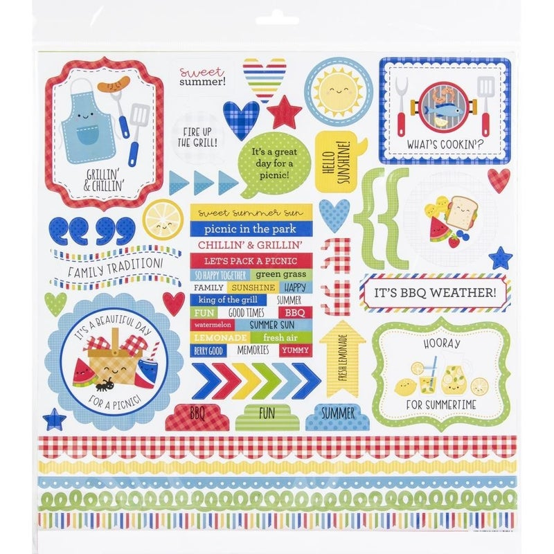 Bar-B-Cute Paper Pack