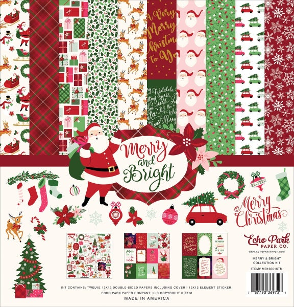 Merry & Bright Paper Pack