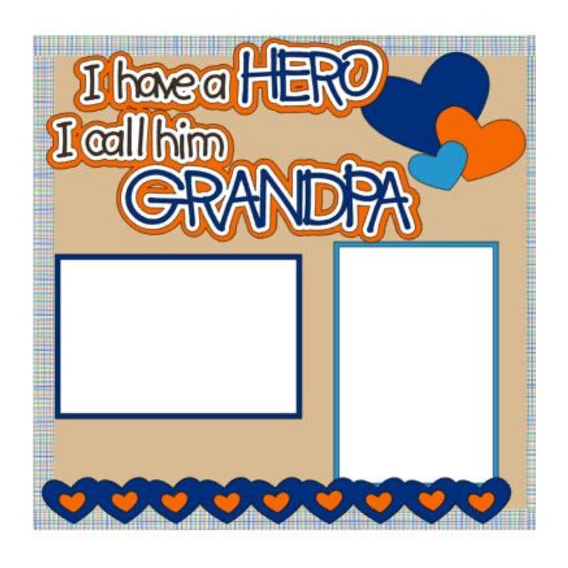 I Have a Hero Grandpa Kit