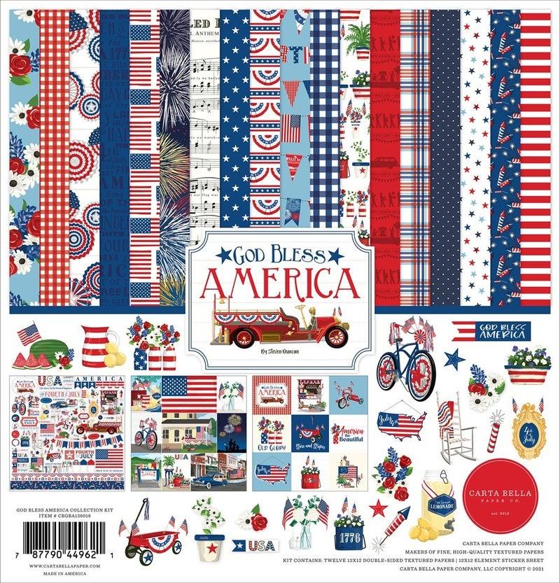 God Bless America Paper Pack