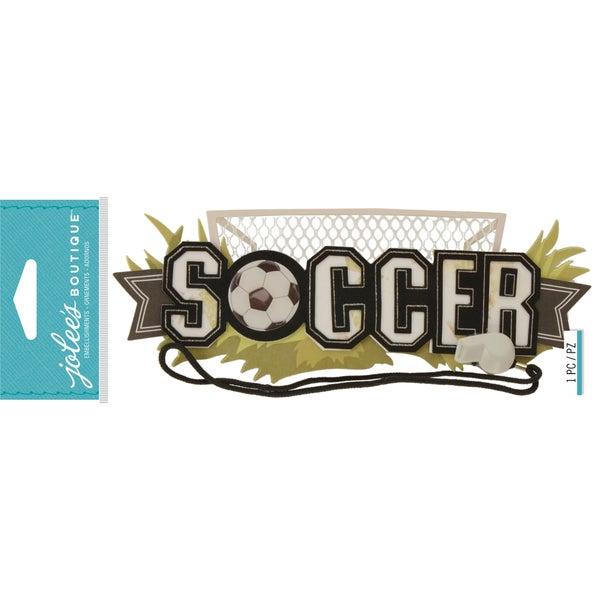 Soccer 3D Title