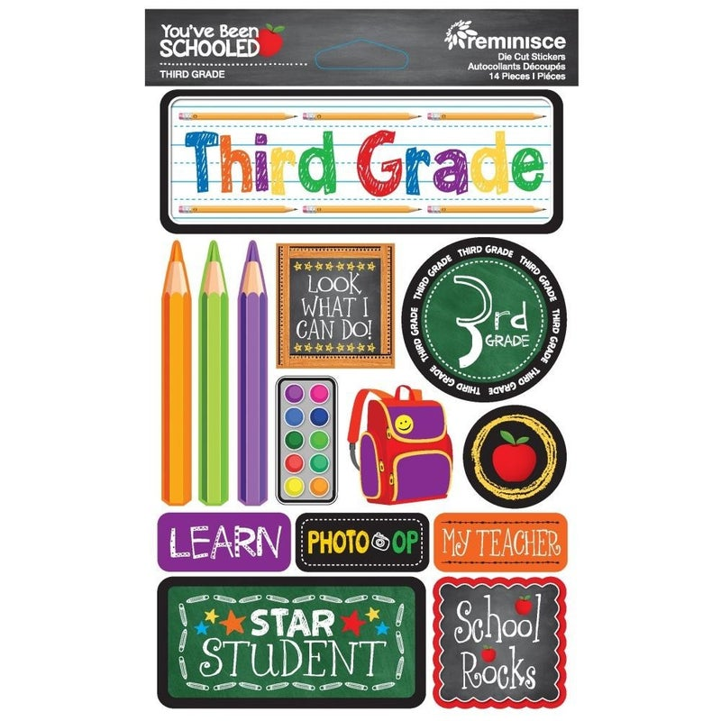 You've Been Schooled 3rd Grade Stickers