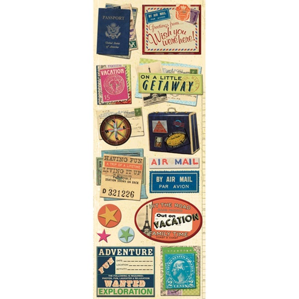 Par Avion Travel Stickers