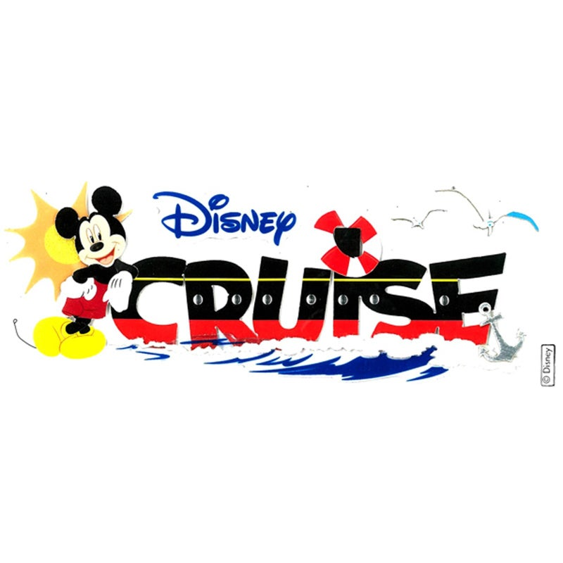 Disney Cruise Sticker