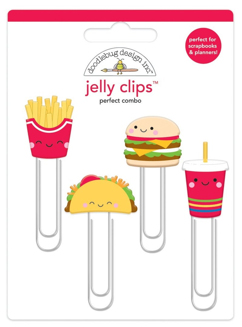 Perfect Combo Fast Food Jelly Clips