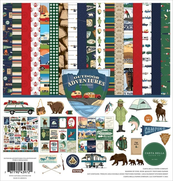 Outdoor Adventures Paper Pack