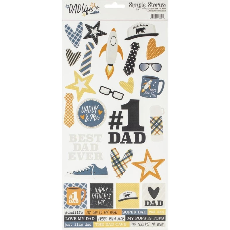 Dad Life Stickers