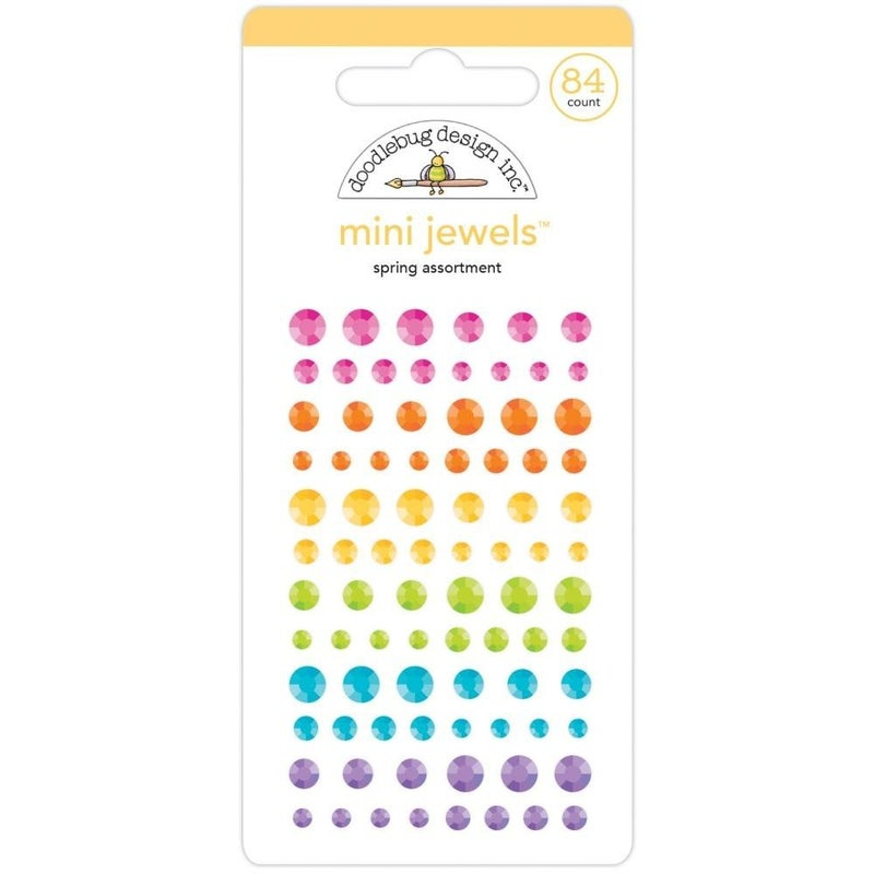 Doodlebug Mini Jewels - Spring