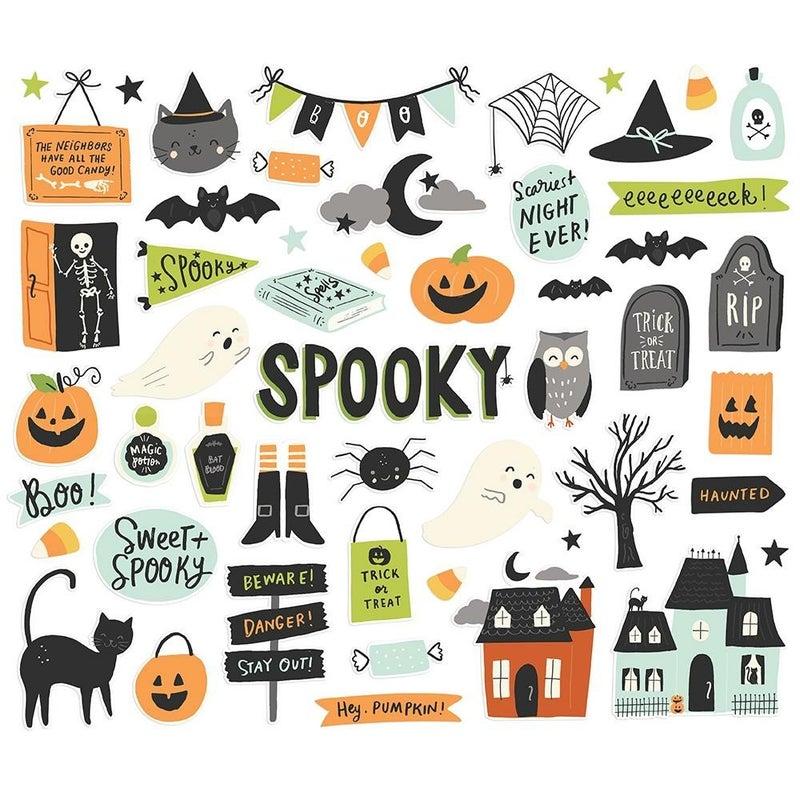 Spooky Nights Halloween Bits & Pieces Die Cuts