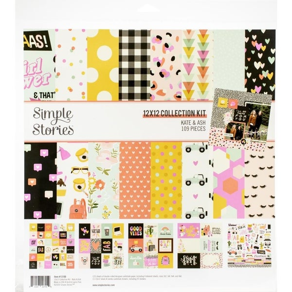 Kate & Ash Paper Pack