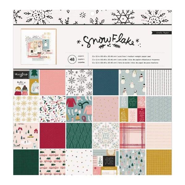 Snowflake Paper Pack