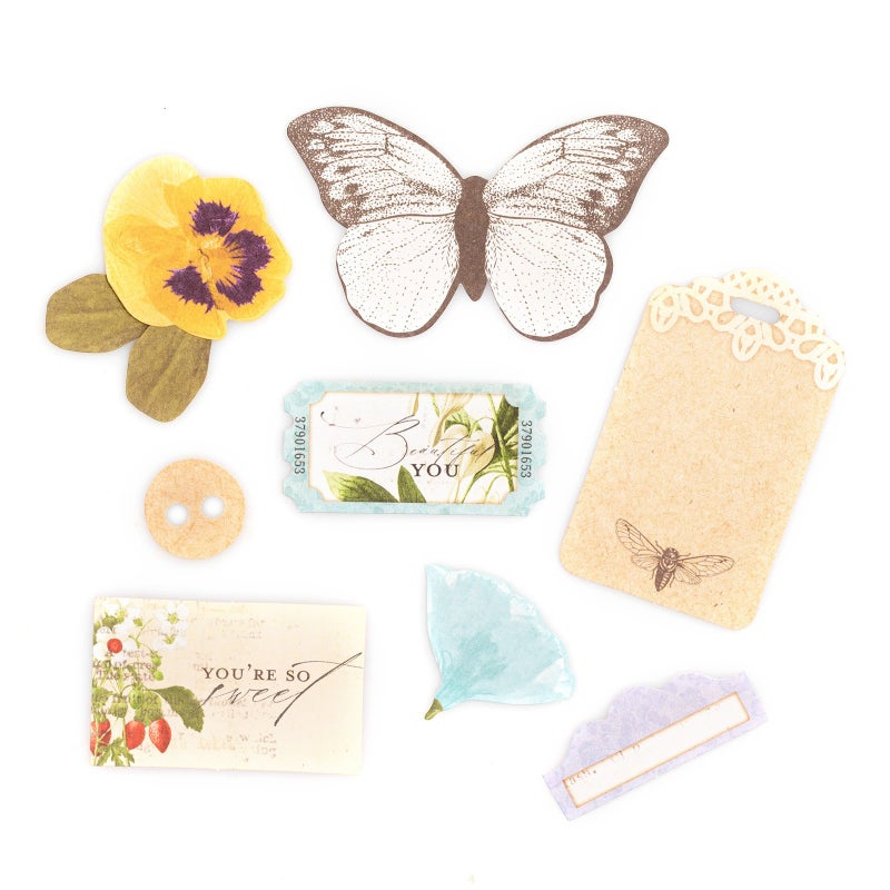 Bo Bunny Botanical Journey Die Cuts