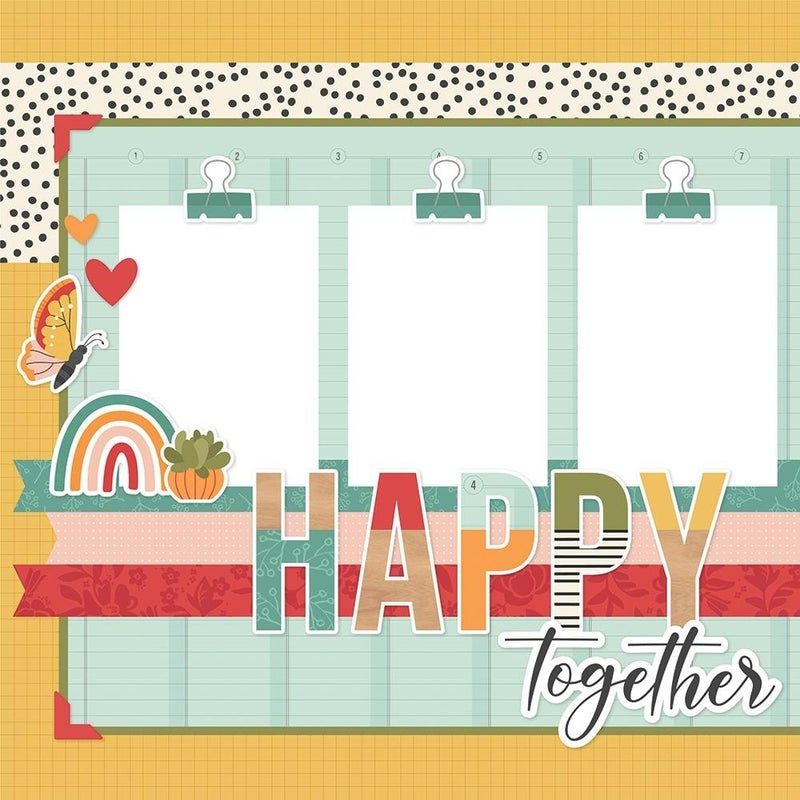 Happy Together Page Kit Pack