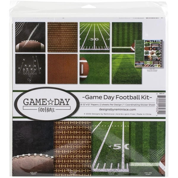 Game Day Football Paper Pack