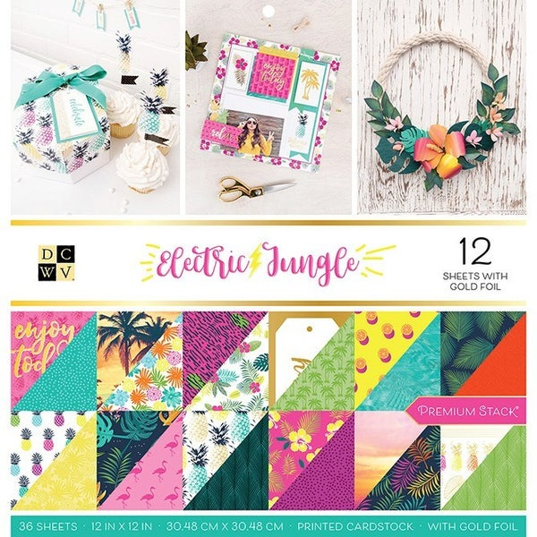Electric Jungle Paper Pad