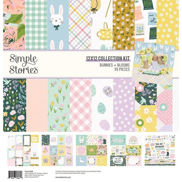 Bunnies & Blooms Paper Pack