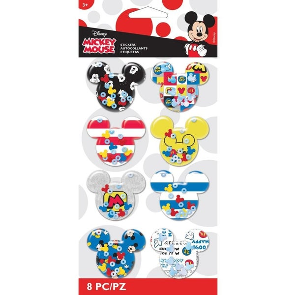 Disney Mickey Shaker Stickers