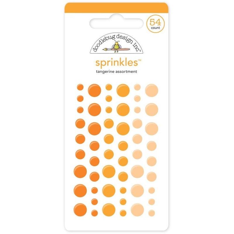 Doodlebug Sprinkles - Tangerine