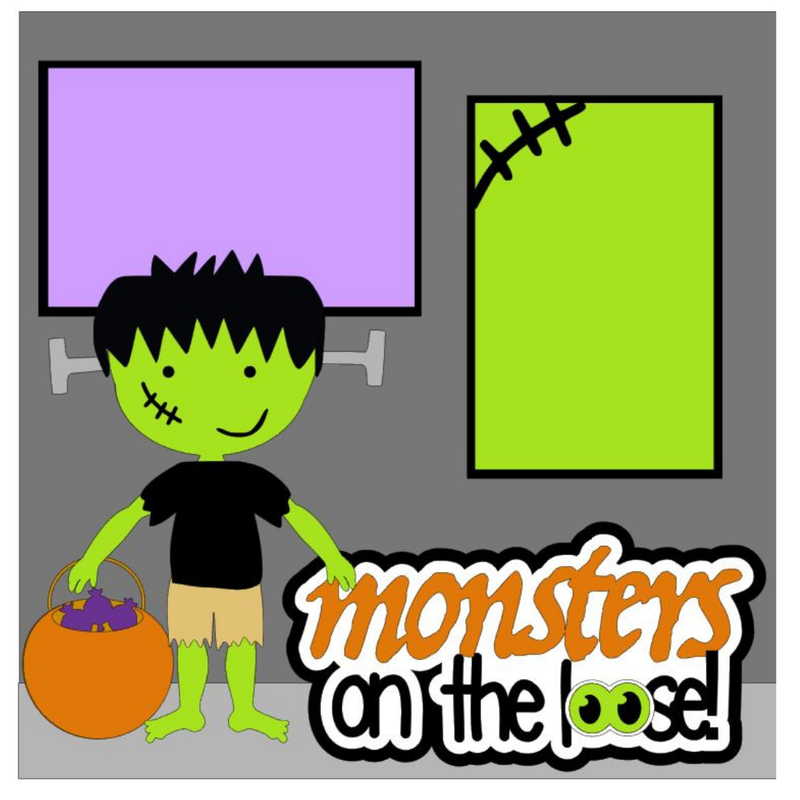 Monsters on the Loose Kit