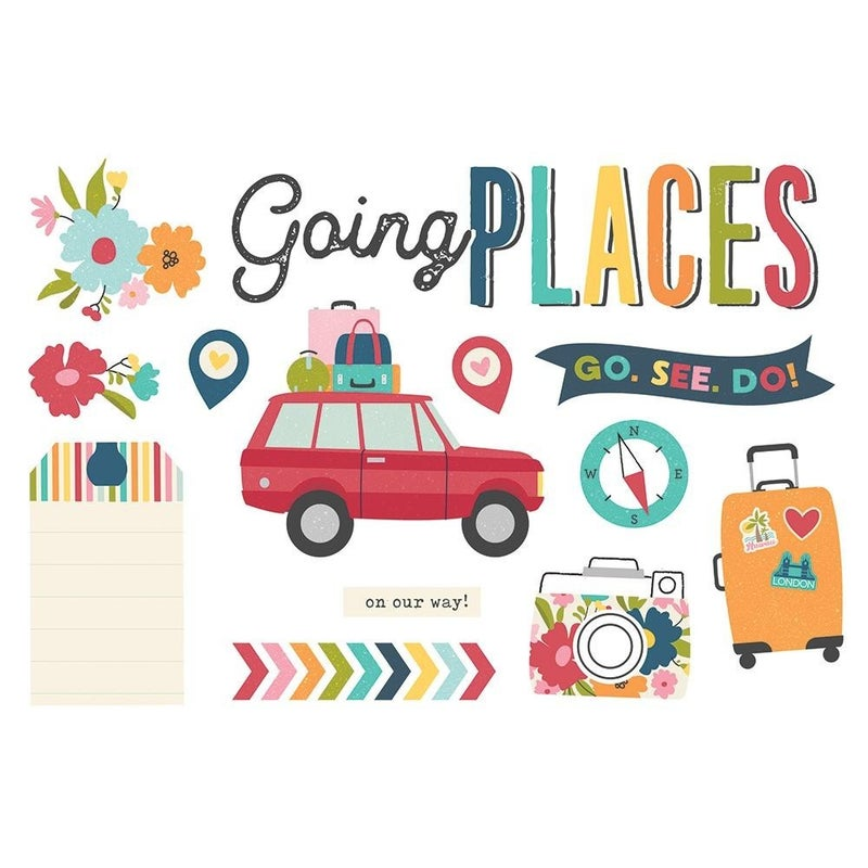 Going Places Page Pieces