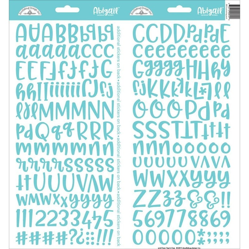 Abigail Alphabet Sticker
