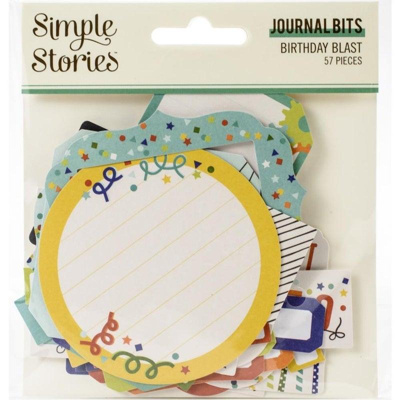 Birthday Blast Journal Bits Die Cuts