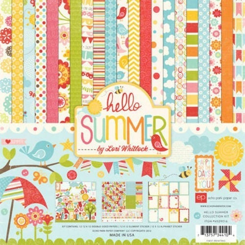 Hello Summer Paper Pack