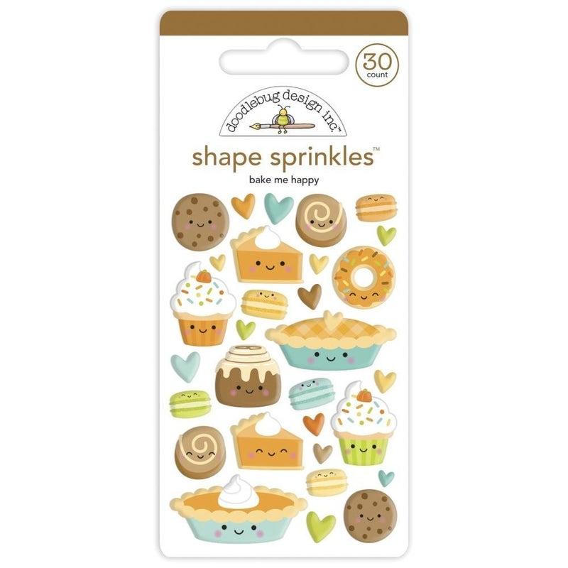 Bake Happy Sprinkles Shapes