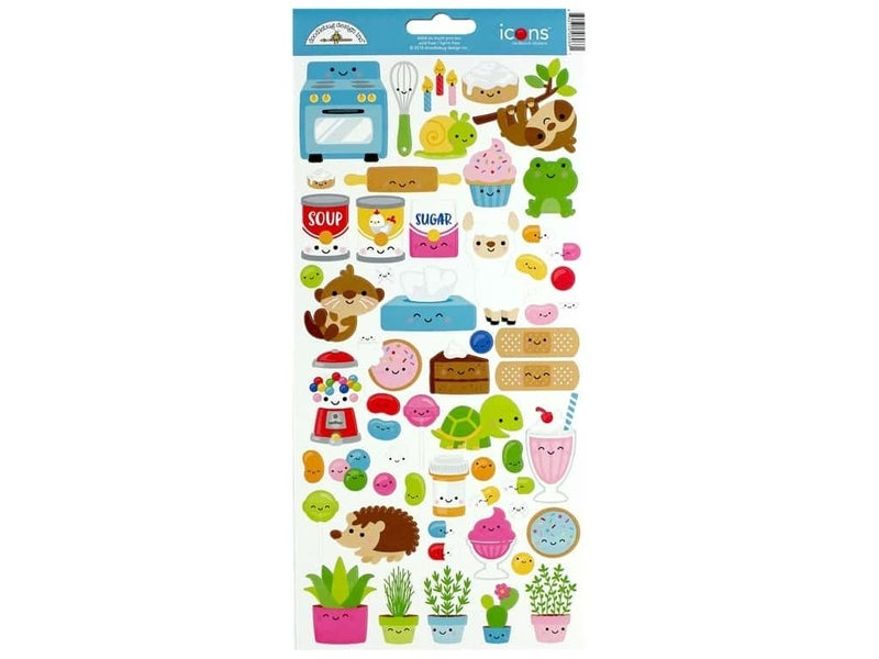 So Much Pun 6x12 Sticker Sheet