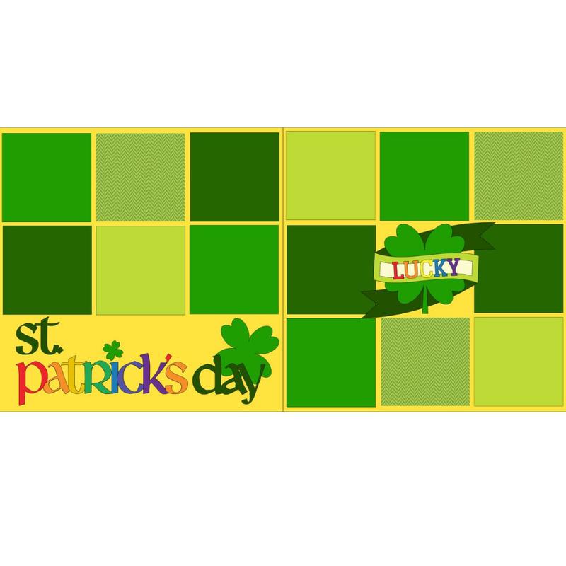 St  Patrick's Day Kit