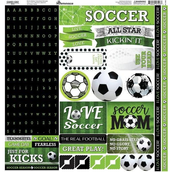Soccer 12x12 Sticker Sheet