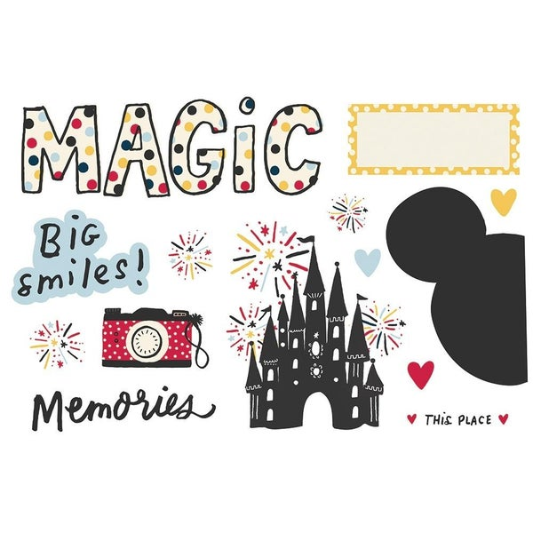 Magic Memories - Say Cheese - Page Pieces