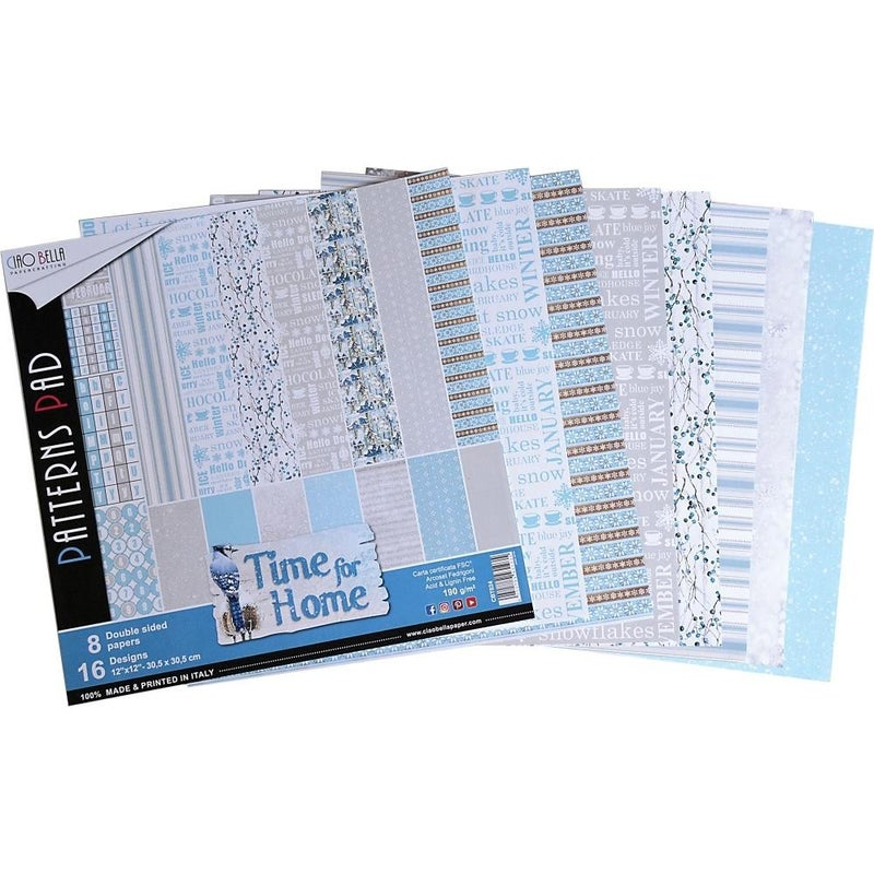 Time for Home 12x12 Paper Pad