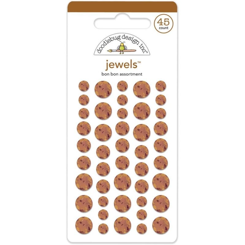 Doodlebug Jewels - Bon Bon Brown