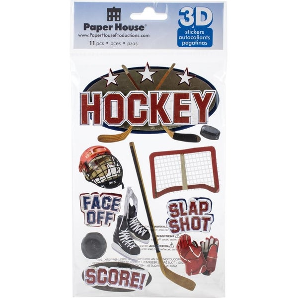 Ice Hockey 3D Stickers