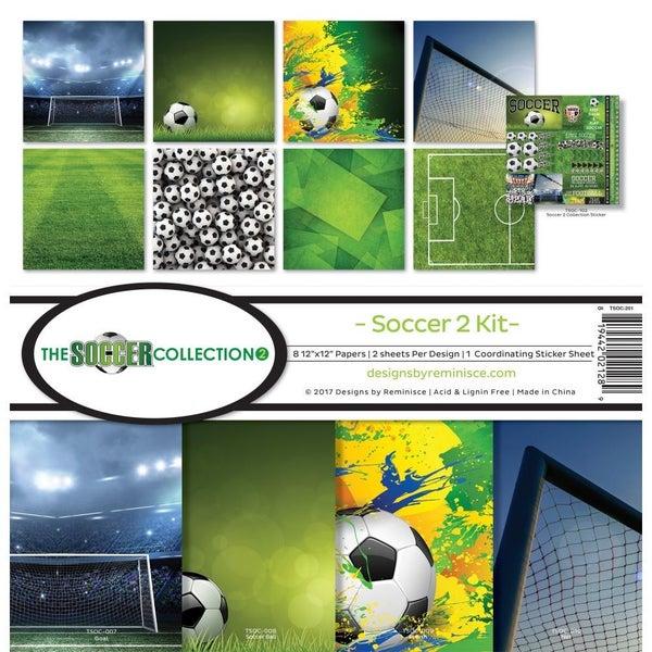Soccer 2 Paper Pack