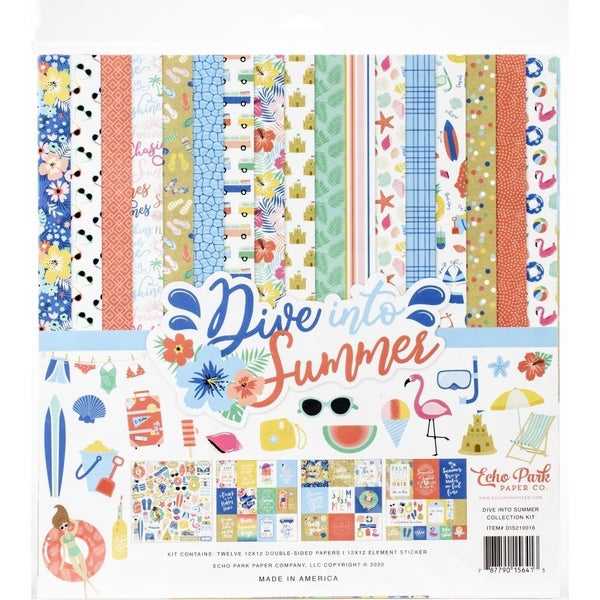 Dive Into Summer Paper Pack