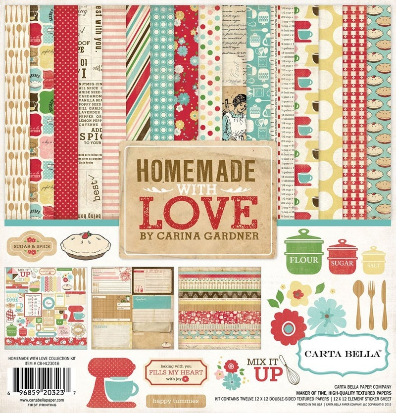 Homemade with Love Paper Pack