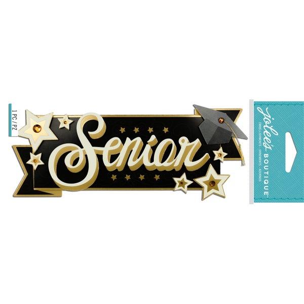 Senior Graduation 3D Title