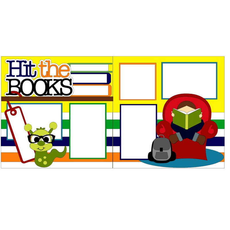 Hit the Books Kit