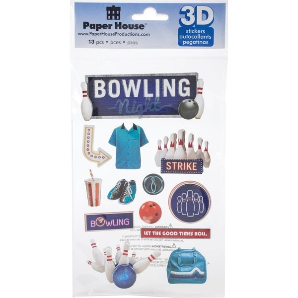 Bowling 3D Stickers