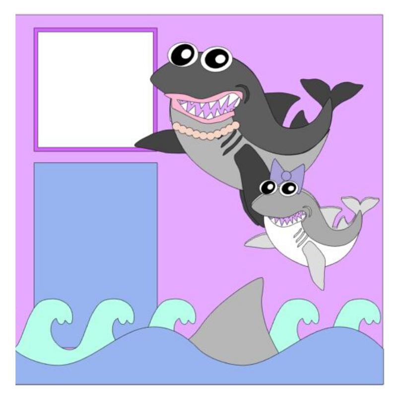 Mommy Shark kit
