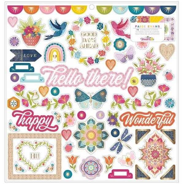 Wonders 12x12 Stickers