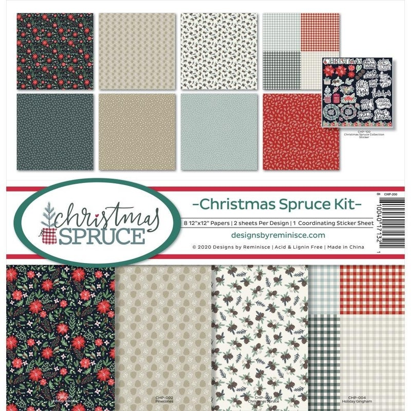 Christmas Spruce Collection Pack