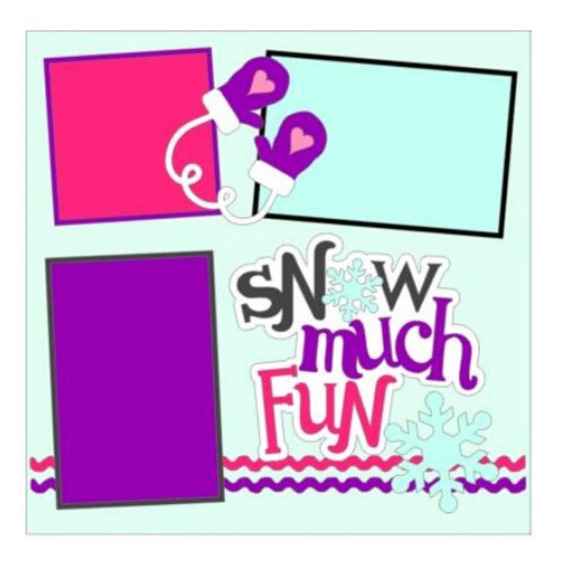 Snow Much Fun Girl Kit