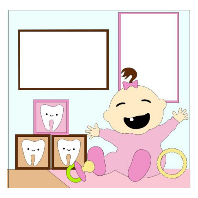 My First Tooth Girl Kit