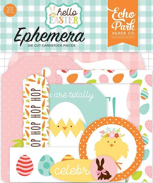 Hello Easter Die Cuts