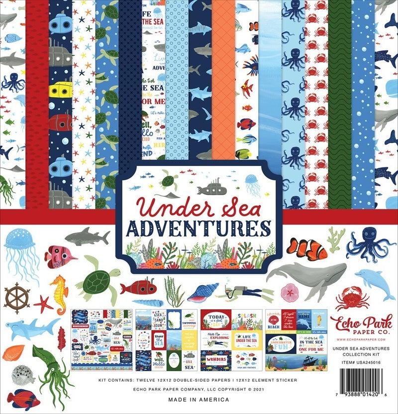 Under Sea Adventures Paper Pack