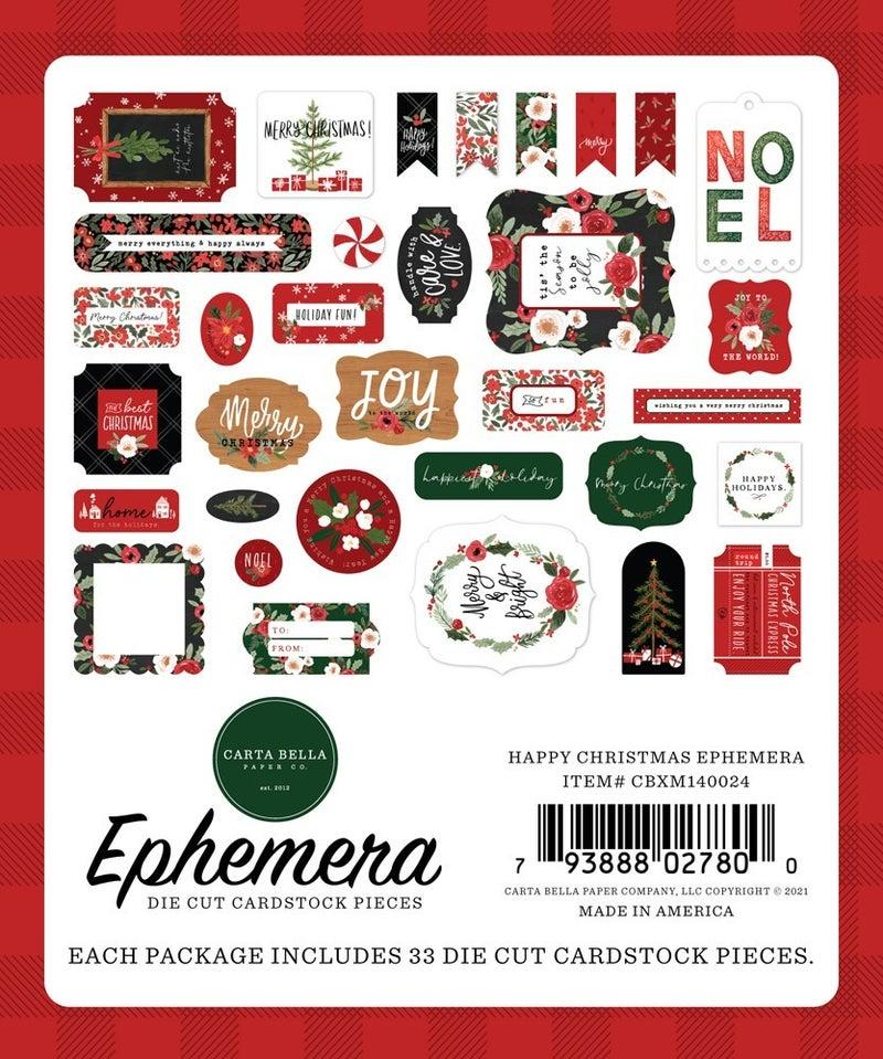 Happy Christmas Ephemera